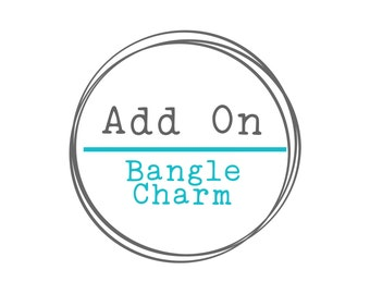 Add a Charm, Add a Stamped Charm, Hand Stamped Disc, Hand Stamped Jewelry, Stamped Necklace, Necklace Charm,