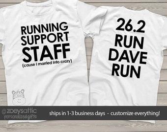 sports shirt   running support staff unisex tshirt   cheer staff adult tshirt mrun-003