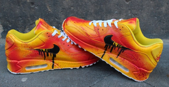 81db746b93 where to buy custom nike air max 90 funky galaxy colours graffiti airbrush  21915 dd235