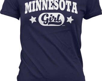Minnesota Girl Juniors T-shirt, NOFO_00992