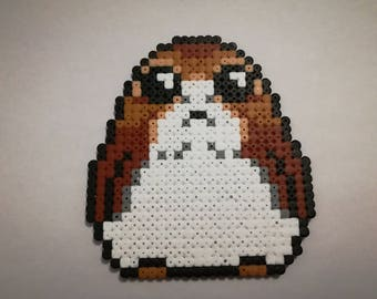 PORG STAR WARS decorative beaded iron - Pixel Art - Geek Art