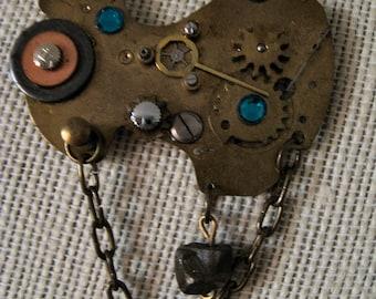 Steampunk Pendant - 104
