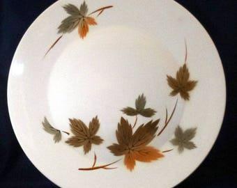 Vintage Fuji Ironstone Autumn Leaves Platter Plate, 1960s