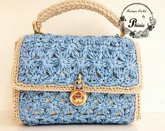 Stylish Crochet Handbag