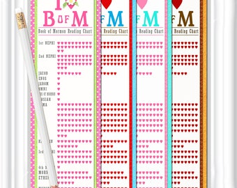 Download LDS BOOKMARKS, instant download,diy printable Bookmarks for Personal and Classroom use or for Gift giving, Book of Mormon bookmarks