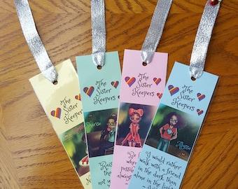 Custom bookmarks / bookmark / author promo