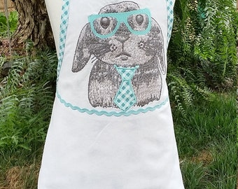 Brilliant Bunny Children's Springtime Apron