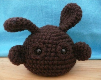Dust Bunnies crochet pattern PDF