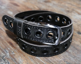 Mens Leather Belt, The Manly Man's Belt, Strong, Rustic, Built to Last #099