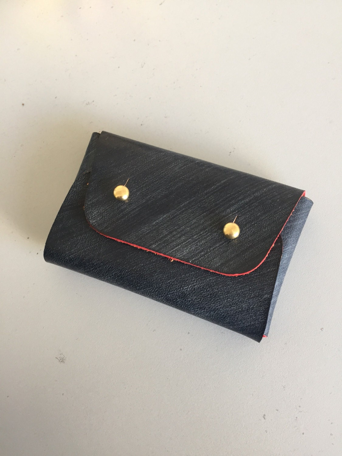 Business card holder/ Origami coin and card wallet/ Business - photo#27