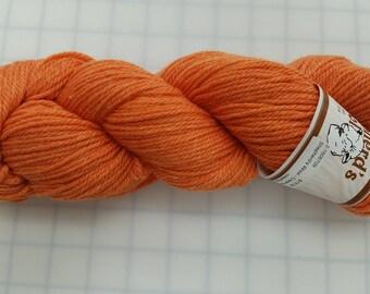 Shepherd's Wool - Worsted Spun Fine Wool - color #040417 Creamsicle