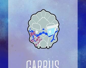 Garrus Hard Enamel Pin