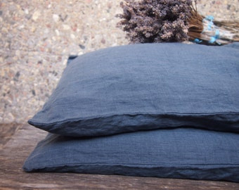 Eco Linen Pillow case, Linen Bedding, Linen Pillow case, Organic Linen Pillow case