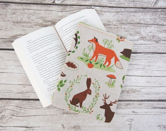 BookFennec Forest Animals Booksleeve Paperback