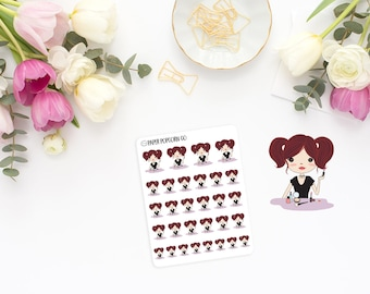Eva Does Makeup - Planner and Scrapbooking Stickers