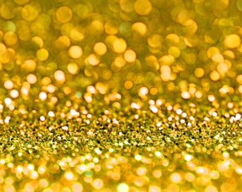 GOLD  BIO GLITTER - Biodegradable Glitter- Festival Bio Glitter - Eco Friendly Bio Glitter - Mermaid Glitter - Cosmetic Grade - 200 microns