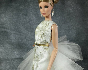 "The Tenderness Day - Fashion for Fashion Royalty Fr2, Nuface, Barbie & same 12"" size doll"