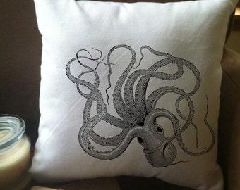 octopus decorative throw pillow cover