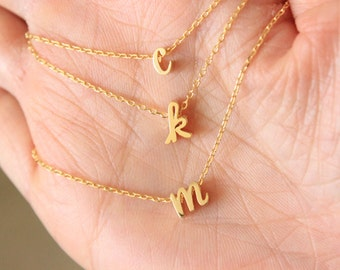 min gold personalized ketting necklace r letter lightbox product jewelry