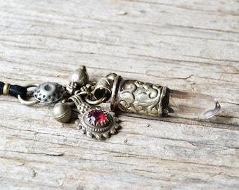Collier en cristal, bijoux Bohème, bijou, collier pointe de quartz, collier Bohème, cadeau pour elle