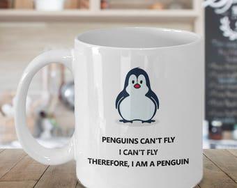 Penguin Gift - Penguin Gifts - Penguin Birthday Gift - Penguin Mug - Funny Penguin Mug - I Am a Penguin