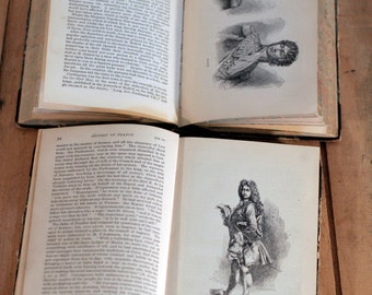 History of france volume 5 and volume 7 m guizot and madame guizot de witt