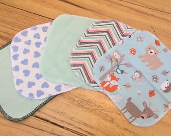 Cloth baby wipes neutral