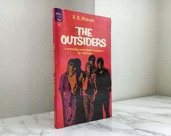 The Outsiders by S.E. Hinton (Vintage Laurel-leaf Paperback)