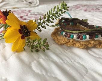 Sunflower Themed Bracelet Bundle