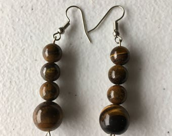 African Earrings: Stacked