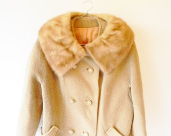 Vintage Wool Steven Hockanum Womens Coat