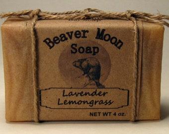 Handmade soap Lavender Lemongrass
