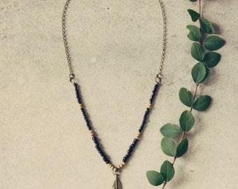 Boho necklace, bohemian necklace, hippie necklace, men necklace, boho jewelry, bohemian jewelry, necklace for men, for him, gift for men