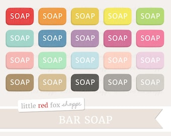 Bar Soap Clipart, Bathroom Clip Art Kitchen Clean Cleaning Washing Icon Bath Wash Dishes Cute Digital Graphic Design Small Commercial Use