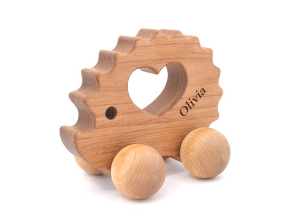 Toys Are Us Wooden Toys : Personalized wooden toy waldorf wood animal natural