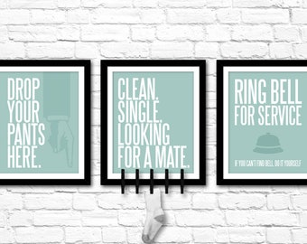 Laundry Room Art Collection – Printable Digital Files in 5 colors – Modern home decor – Birthday Gift – House Warming Gift – Wedding Gift