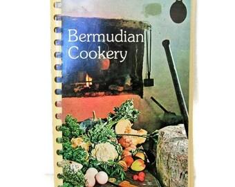Bermuda Cookbook , Junior League Cook Book Bermudian Cookery, Mid Century Meals