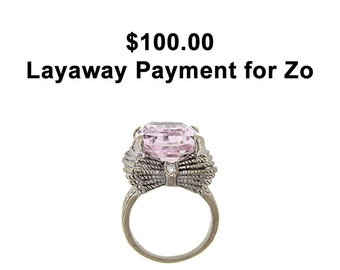 Layaway Payment for Zo