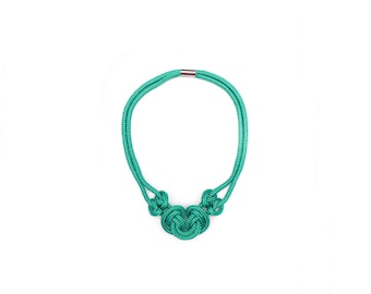 The Green Knot Necklace