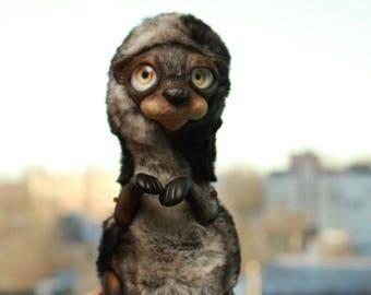 Cute Otter Fedosya
