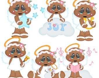 Sugar Angels Gingers EXCLUSIVE Clipart-Instant Download-Digital Clipart