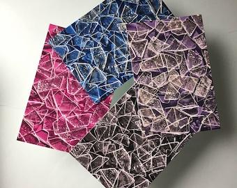 Brisé en verre plafond cartes postales - paquet de 30