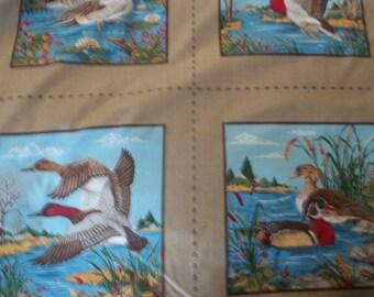 "Duck Season Fabric Panel - 35"" X 44/45"" Wide"
