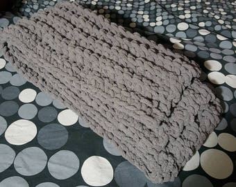 Chenille Scarf scarves  Handmade Gift Many Colors Made to order Holidays