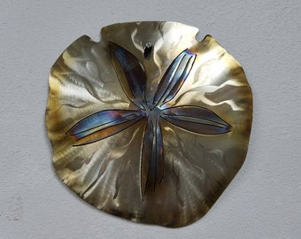 Stainless Steel Sand Dollar Wall Art