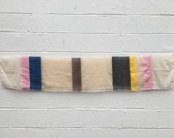 Striped Cotton Scarf from Ethiopia