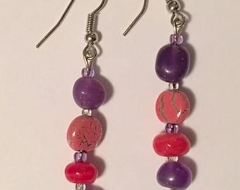 Pink & Purple Drops