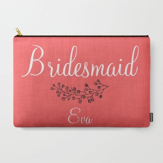 Wedding Gift Ideas For Friend: Bridesmaid Gift Ideas Coral Wedding Party Gifts For Friends