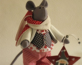 Tilda style mouse Timothy