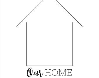 Our Home EST 2016 Print